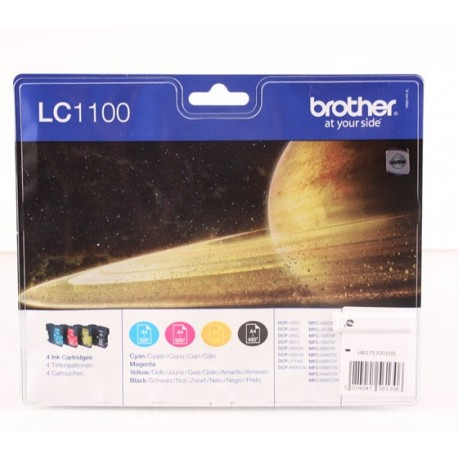 Brother LC1100 multipack väripaketti