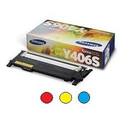 Samsung Y406 värit CLT-Y406S sininen punainen keltainen