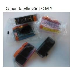 Canon CLI-521tarvike sininen, keltainen, punainen, musta 521C 521M 521Y 521BK
