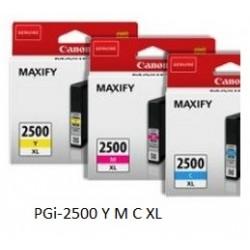 Canon PGI-2500XL värit